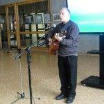 В библиотеке провели музыкально-поэтический концерт
