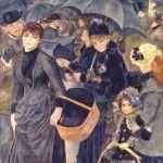 «Les parapluies»: история одной картины»