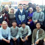В гостях у библиотеки иностранные студенты