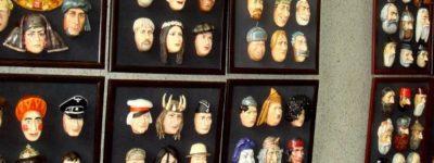 «Люди-маски»: вернисаж художественных работ Сергея Ершова