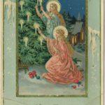 C пожеланиями счастья в Новом году - новогодние и рождественские открытки конца XIX - начала XX вв.